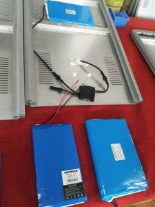 solar street light battery price