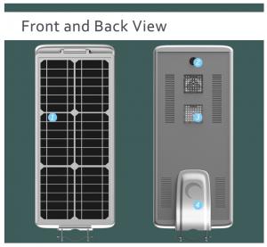 LED integrated solar street light advantages