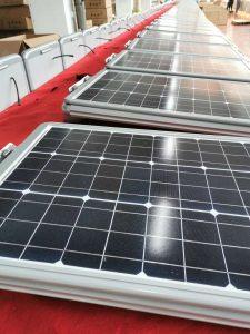 foldble solar street light