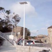 Solar street light operation & maintenance
