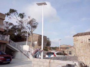 Solar street light operation & maintenance