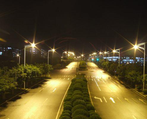 solar street light project Malaysia