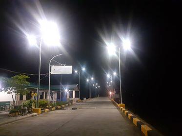 solar led street light in Malaysia