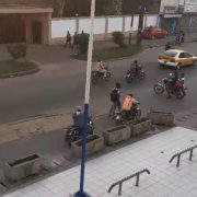 All in one solar street light project in Ghana