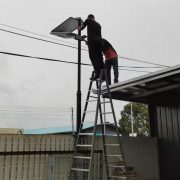 solar led street light project in Malaysia