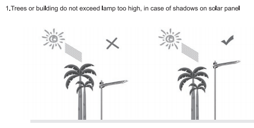 solar street lamp pole